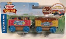 Thomas & Friends Wooden Railway Sodor Sweet Shoppe Candy Cars , New