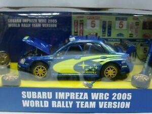 WOW EXTREMELY RARE Subaru Impreza 2005 WRC Solberg Diorama Camber 1:24 Hotworks
