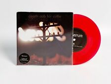 """Death Cab For Cutie - Crooked Teeth 7"""" Red Vinyl In Poster Sleeve - RARE"""