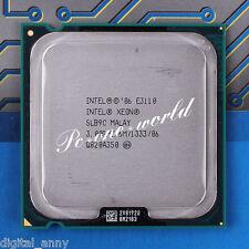 100% OK SLAPM Intel Xeon E3110 3 GHz Dual-Core CPU Processor LGA 775