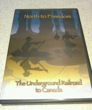 NORTH TO FREEDOM THE UNDERGROUND RAILROAD TO CANADA DVD~SHIPS FREE