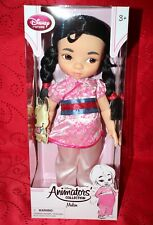 Disney Store Animator's Collection MULAN DOLL 16""