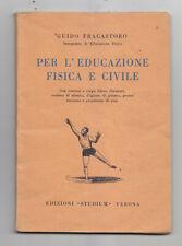 DD617-1953 EDUCAZIONE FISICA
