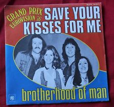 Brotherhood of Man, save your kisses for me - eurovision 1976, SP - 45 tours