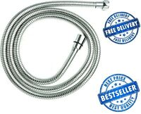 3M EPDM Chrome Stainless Steel Shower Hose Triton Mira Grohe Replacement