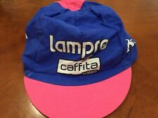 2005 Team Lampre Caffita Cannondale Cap Hat by Kappa of Italy
