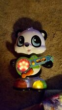 Panda Toy LeapFrog Learn And Groove Dancing With Guitar And Light-Up Shoes New.