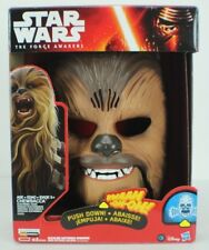 Star Wars The Force Awakens HASBRO Chewbacca  Electronic Mask Voice  NEW