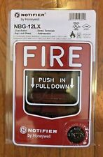 New Notifier Nbg-12Lx Fire Alarm Addressable Pull Station