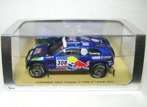 VW Race Touareg 3 No. 308 Rally Dakar 2011