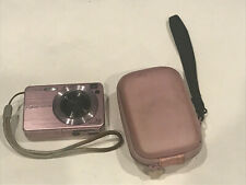 Sony Cybershot with carrying case 7.2 pink