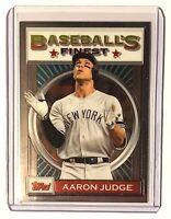 2020 Topps Finest Flashbacks Aaron Judge #196 - New York Yankees