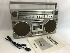 Panasonic Ambience RX-5150 Vintage Stereo Cassette Boombox am/fm + manual Tested