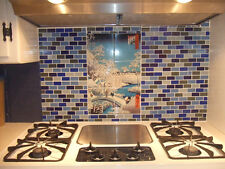 Art Japen Mural Ceramic Winter Backsplash Bath Tile #312