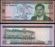 Congo Dem. Rep. P 10 b - 20 Makuta 1970 - UNC