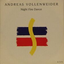 """ANDREAS VOLLENWEIDER 'NIGHT FIRE DANCE' UK PICTURE SLEEVE 7"""" SINGLE #3"""