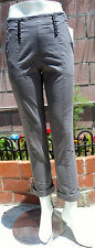 GUESS CHINO PENNY  JEANS / Summer PANTS CAPRY(Grey steel)  sz: 25