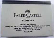 Faber-Castell Stamp Pad  Black Ink  Rubber Stamp Ink Pad  110mmx69mm