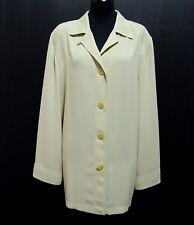 LUISA SPAGNOLI VINTAGE Giacca Donna Jersey Woman Jacket Sz.L