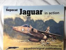 Sepecat Jaguar in Action Squadron Signal book # 1197 Very Good Condition