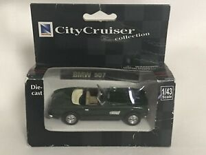 NEW RAY TOYS CITY CRUISER COLLECTION BMW 507 SCALE 1/43