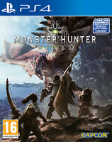 Monster Hunter World PS4 Playstation 4 CAPCOM