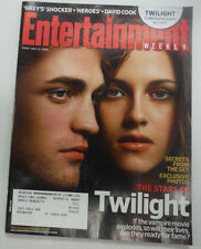Entertainment Weekly Magazine Twilight Robert & Kirsten November 2008 061915R