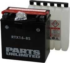 Sealed AGM Battery RTX16-BS Replaces YTX16-BS - For Kawi, Suzuki, Triumph MC