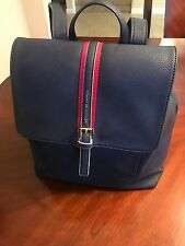 Tommy Hilfiger Woman's/Men's Blue Red Backpack Laptop Case Rare NWT