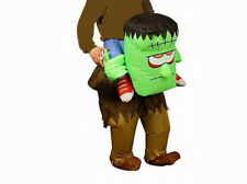 Adult Inflatable Frankenstein Costume Halloween Monster Fancy Dress Costume