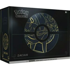 Pokemon Elite Trainer Box (ETB) Plus   12 TCG Booster Packs   Zacian / Zamazenta
