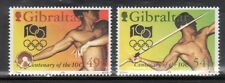 Gibraltar 666-67 Olympic Sports Mint NH