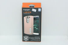 New OEM Spigen Slim Armor Rose Gold Case For LG V10