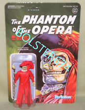 """PHANTOM OF THE OPERA MASQUE RED DEATH Universal Monsters ReAction Super7 3.75"""""""