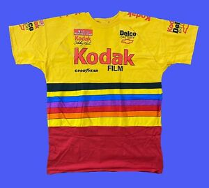Kodak Sterling Marlin Vintage Nascar T-Shirt XL Ds Neu 90s Racing 1996 Tee Vtg