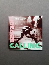More details for the clash london calling. glass drink coaster.
