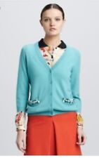 Kate Spade Live Colorfully Beaded Cardigan Size S *See Pic For 2 Small Holes*