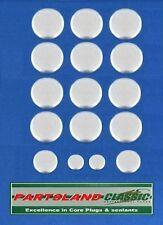 Core Plugs BMW E12 E21 E28 E30 E34 2lt 2.3 2.5 2.7 6 Cyl 12v M20 Eng 1972 - 94