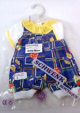 Puppen-Kleidung  Baby Born 43 cm NEU OVP Schwenk Spieler-Anzug Vintage Supersüss