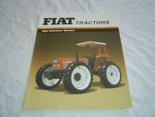 Fiat 80-66 DT high clearance tractor brochure