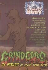 Grindcore - 85 Minutes of Brutal Heavy Metal DVD ( NEW )