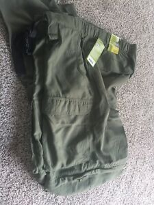 NWT Men's Boy Scouts of America Switchback Uniform Pants Size XL Olive Green
