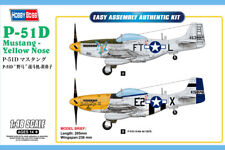 Hobby Boss 85808 1/48 P-51D Mustang Yellow Nose Easy Assembly Aircraft kit
