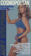 Fitness Workout Cosmopolitan Body Sculpting Arms Thighs Shoulders Butt VHS Video