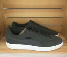 PUMA Smash Sneaker, Castlerock Black Grey Gray White US Sz 12 Athletic Shoes NEW