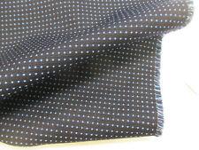 blu scuro & punteggiato Design British misto lana arredo/tessuto di rivestimento