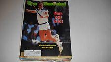 John McEnroe wins Wimbledon -Sports Illustrated- 7/16/1984