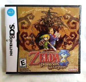 The Legend of Zelda: Phantom Hourglass Brand New Sealed - Nintendo DS US Seller