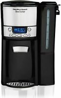 Hamilton Beach 12-Cup Coffee Maker, Programmable BrewStation Dispensing Coffee