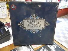 BEETHOVEN NINE SYMPHONIES JOCHUM USED LP BOX SET SZH3890 MASTERED BY CAPITOL